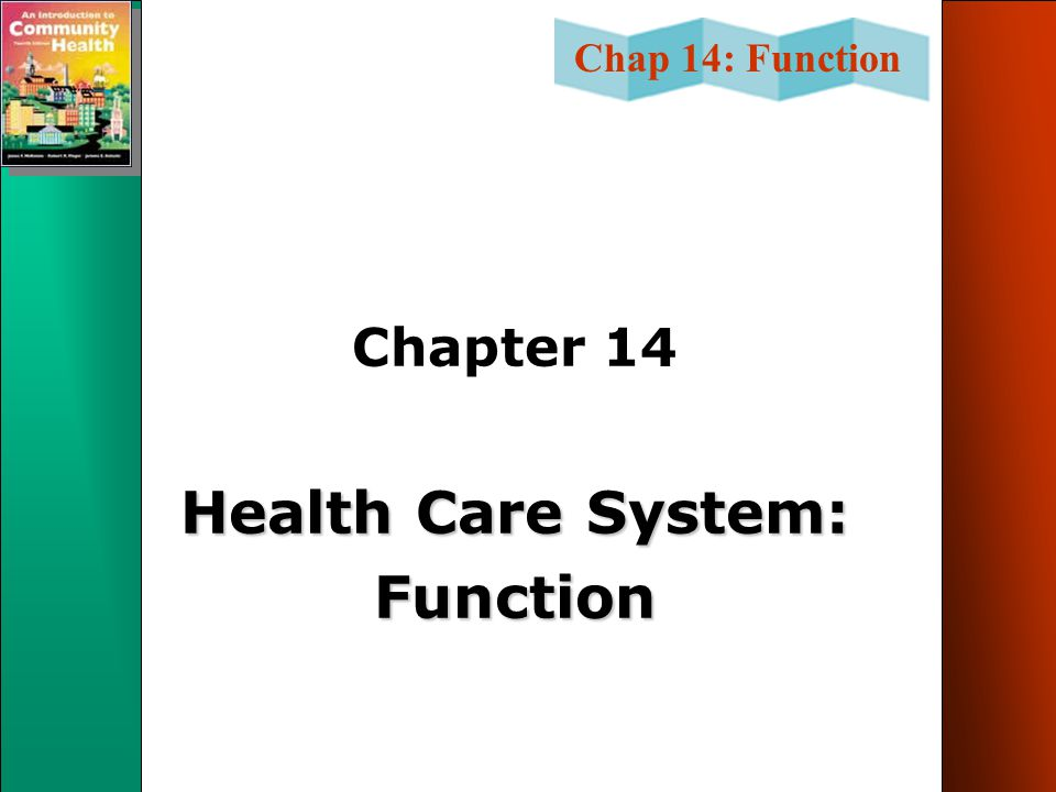 Health Care System: Function