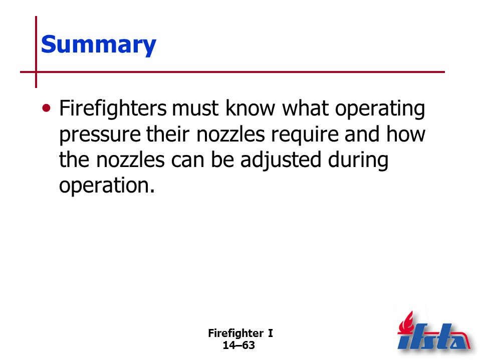 Review Questions 1. What are the ways that water can extinguish fire