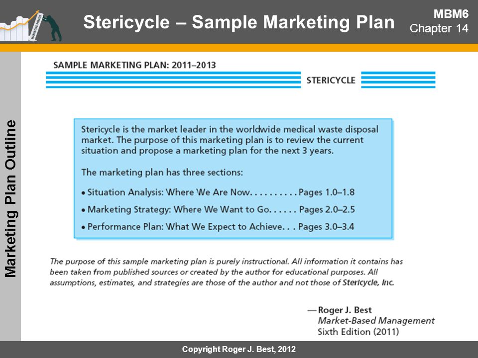 Stericycle – Sample Marketing Plan Marketing Plan Outline