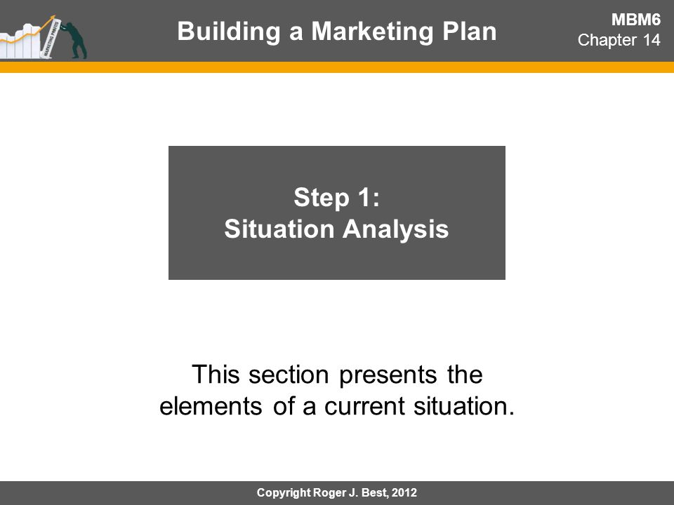 Building a Marketing Plan Step 1: Situation Analysis
