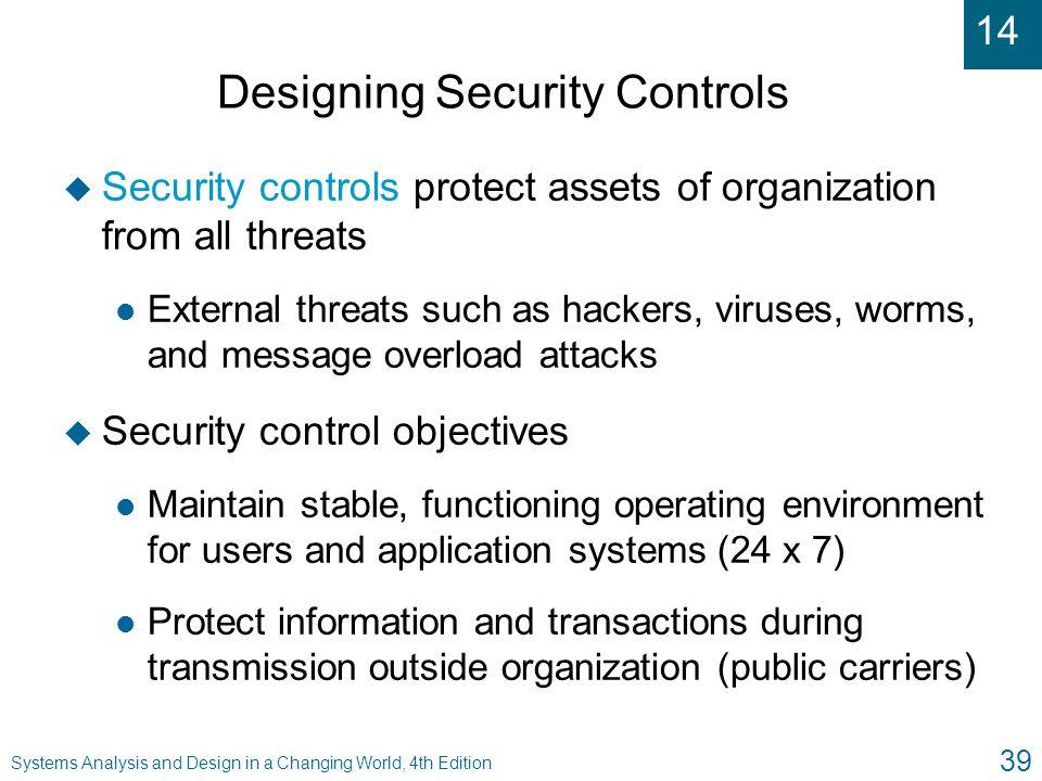 Designing Security Controls