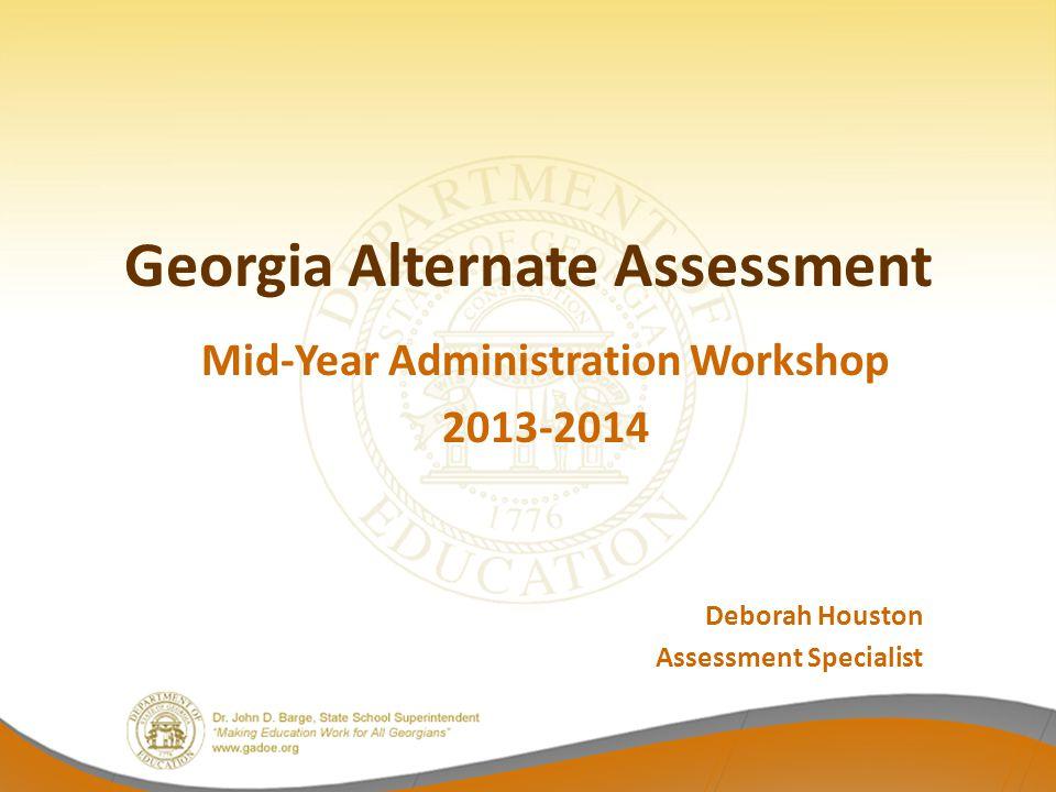 Georgia Alternate Assessment