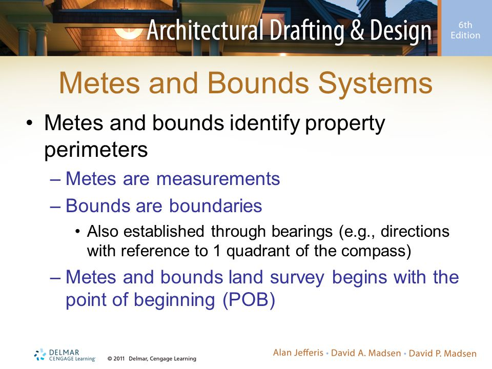Metes and Bounds Systems