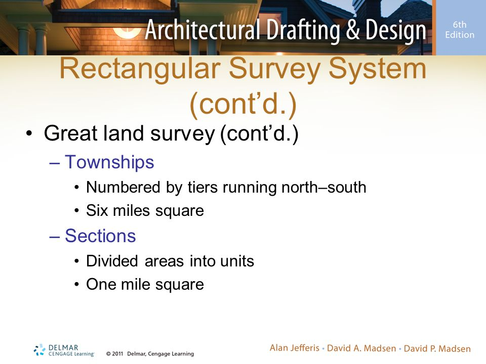 Rectangular Survey System (cont'd.)