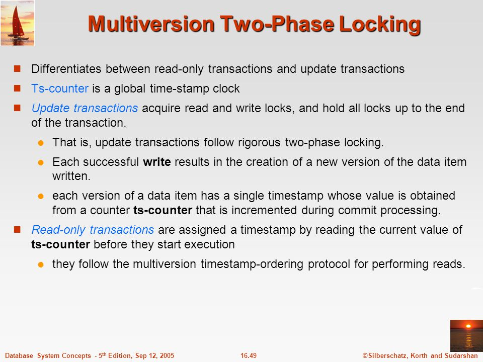 Multiversion Two-Phase Locking