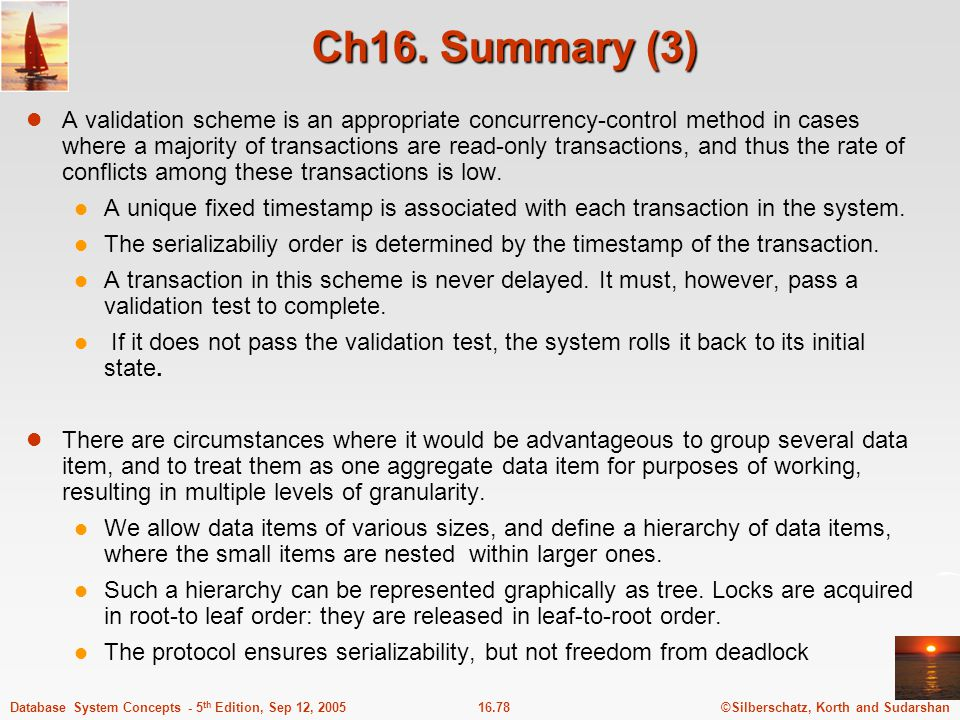Ch16. Summary (3)