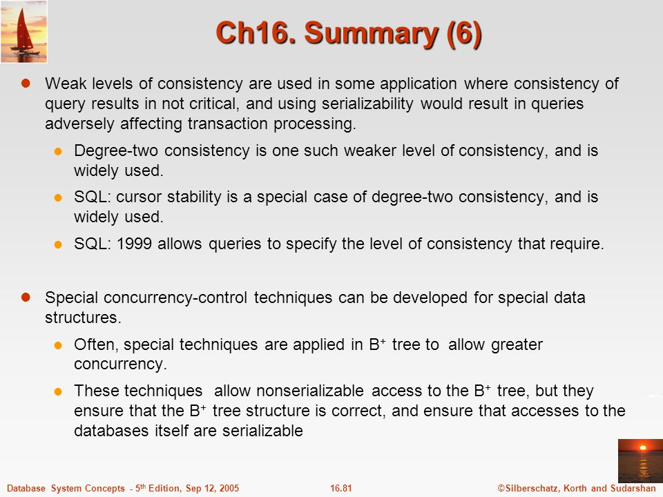 Ch16. Summary (6)