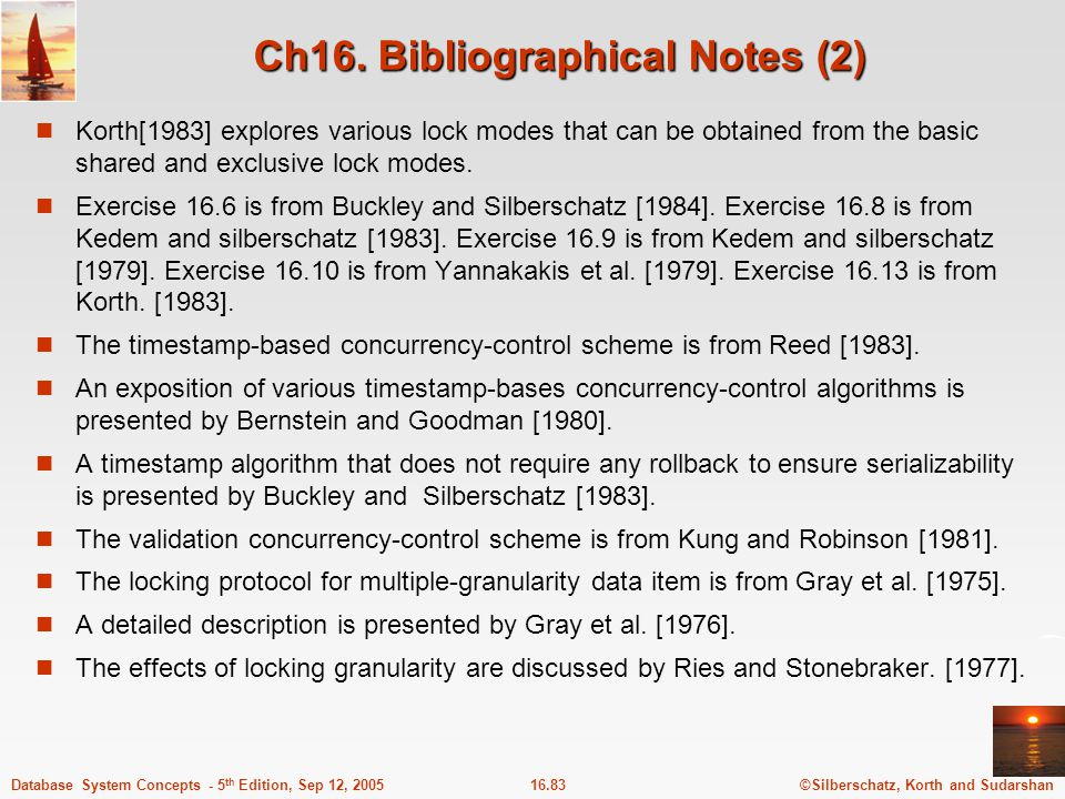 Ch16. Bibliographical Notes (2)
