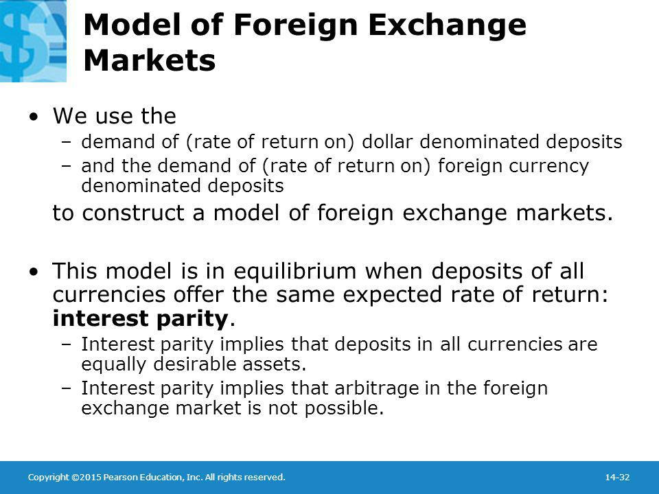 Model of Foreign Exchange Markets