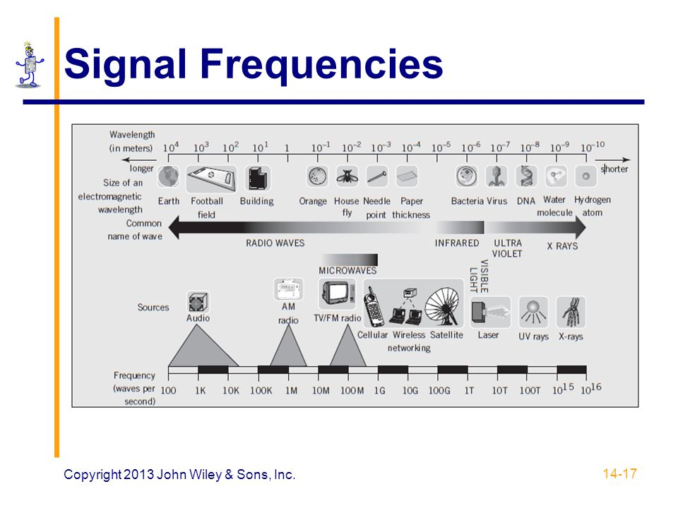 Signal Frequencies Copyright 2013 John Wiley & Sons, Inc.