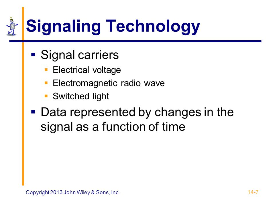 Signaling Technology Signal carriers
