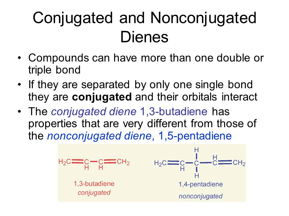 Conjugated and Nonconjugated Dienes