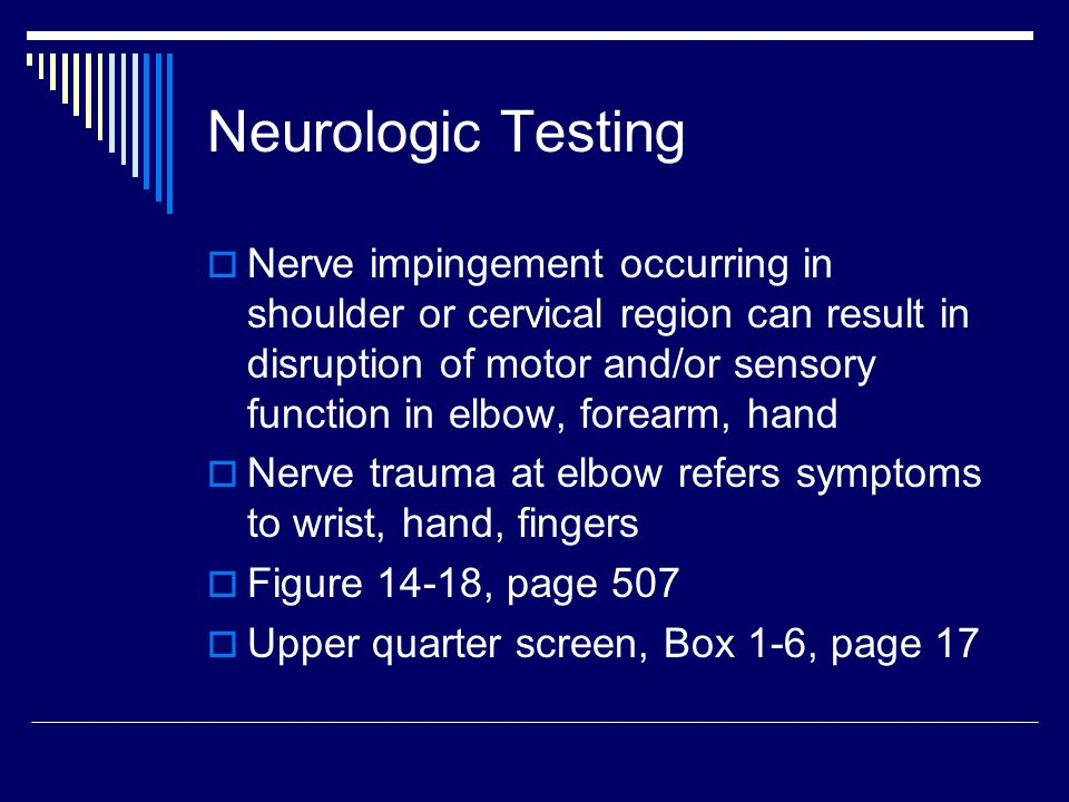 Neurologic Testing