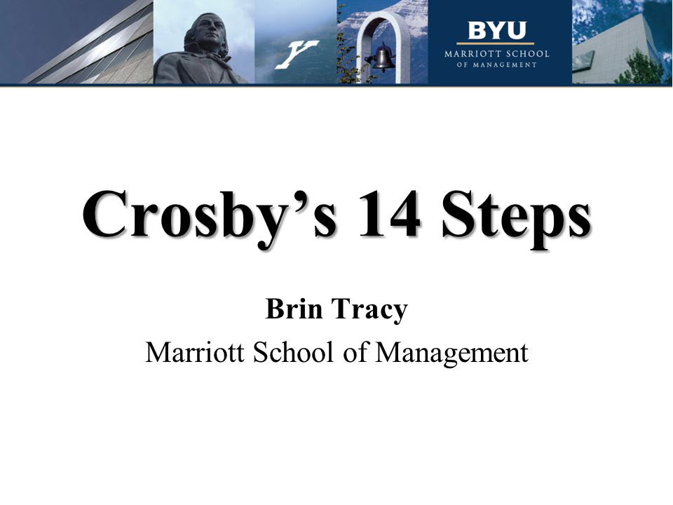 Brin Tracy Marriott School of Management