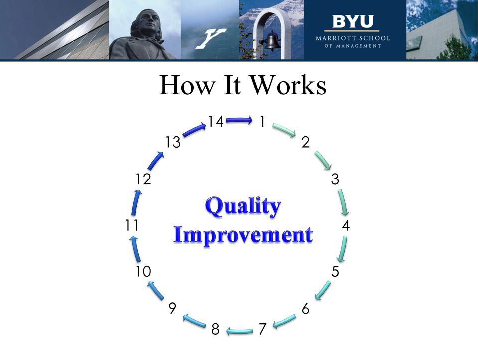 Quality Improvement How It Works