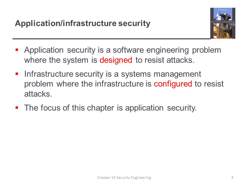 Application/infrastructure security