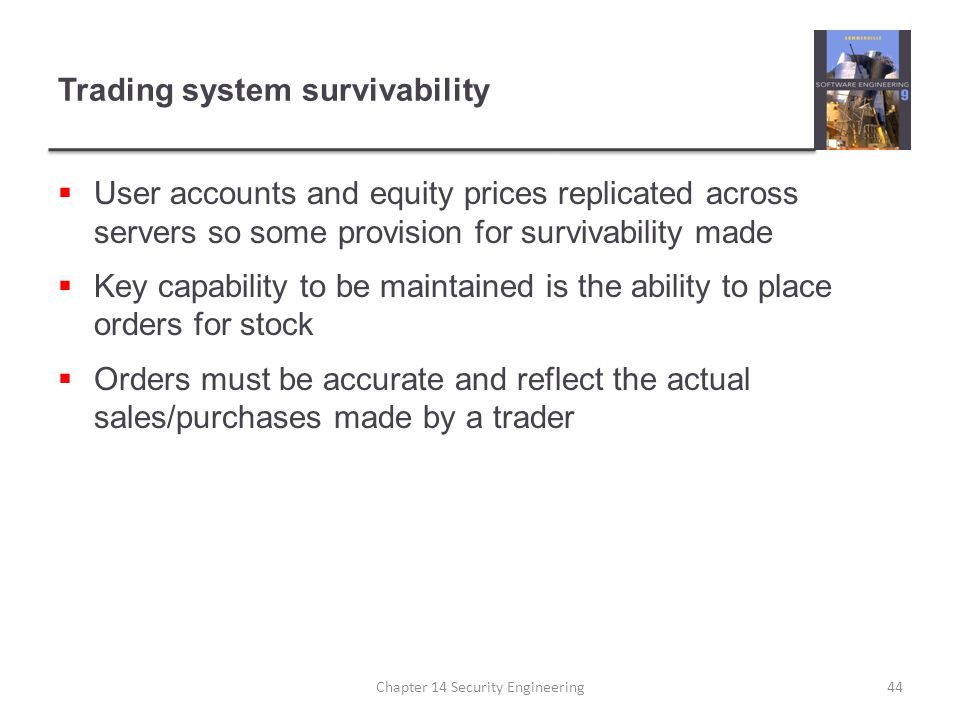 Security trading system