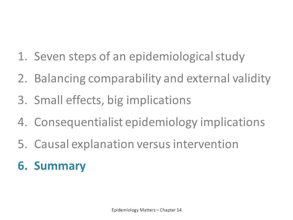 Epidemiology Matters – Chapter 14