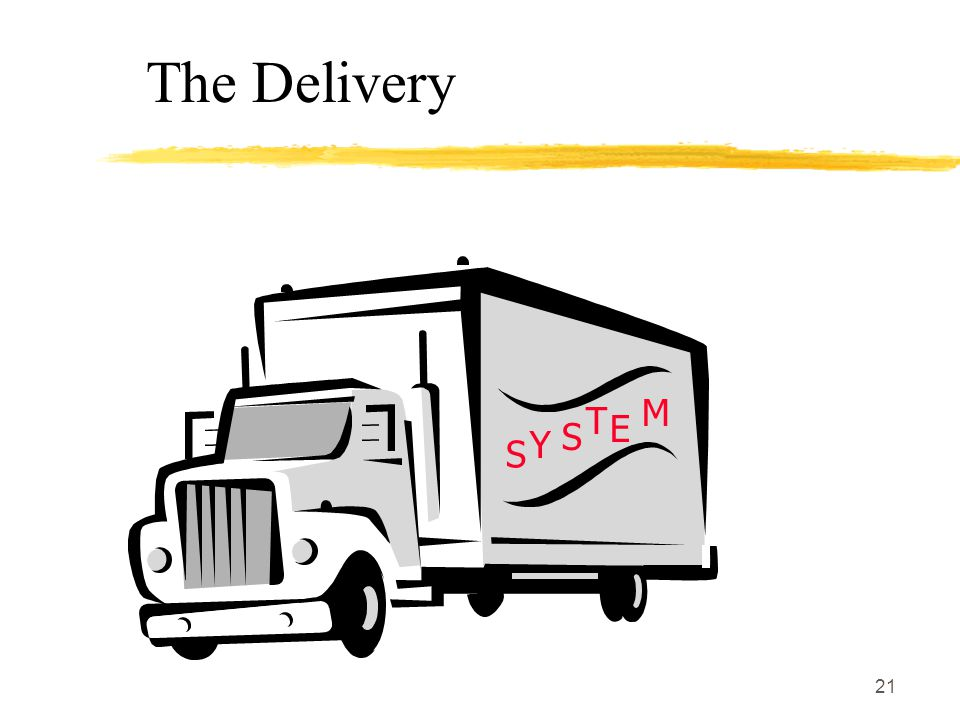 The Delivery S Y T E M