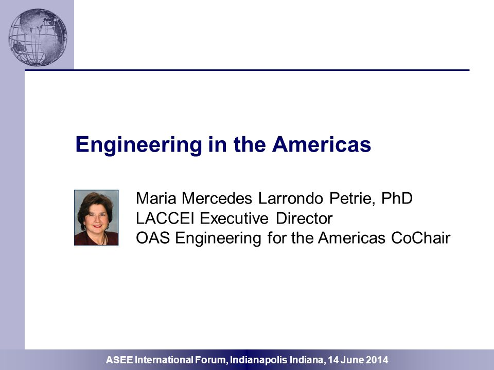 Engineering in the Americas