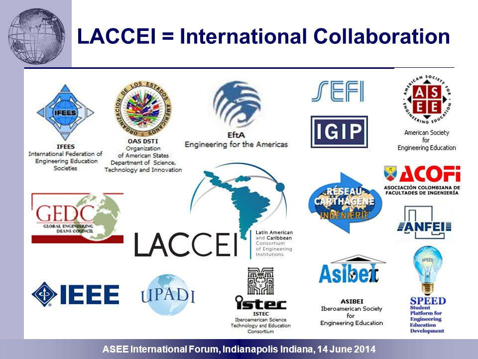 LACCEI = International Collaboration