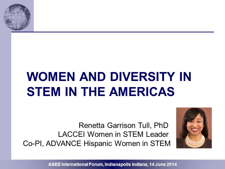 Women and diversity in STEM in the AMERICAS