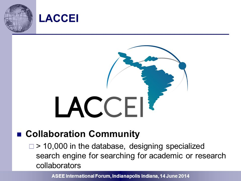 LACCEI Collaboration Community