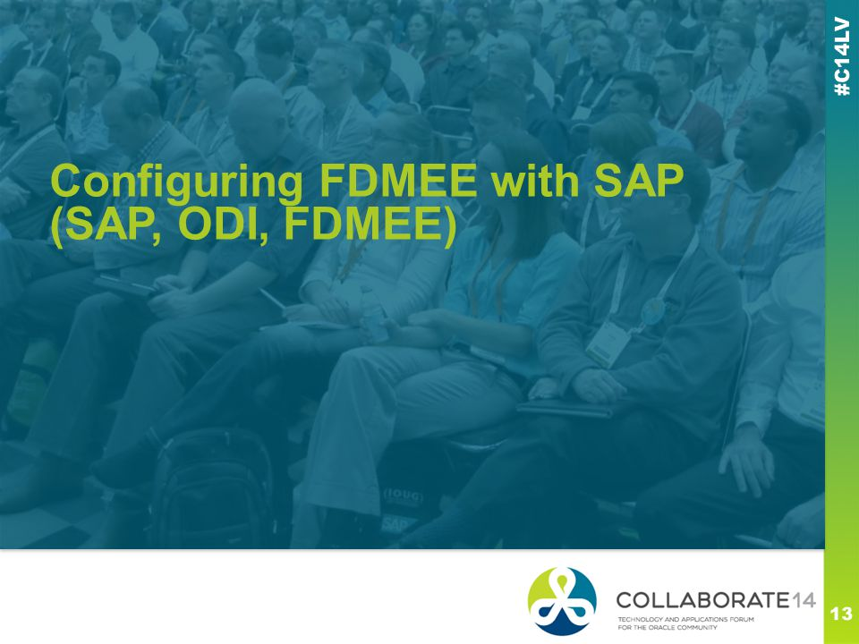 Configuring FDMEE with SAP (SAP, ODI, FDMEE)