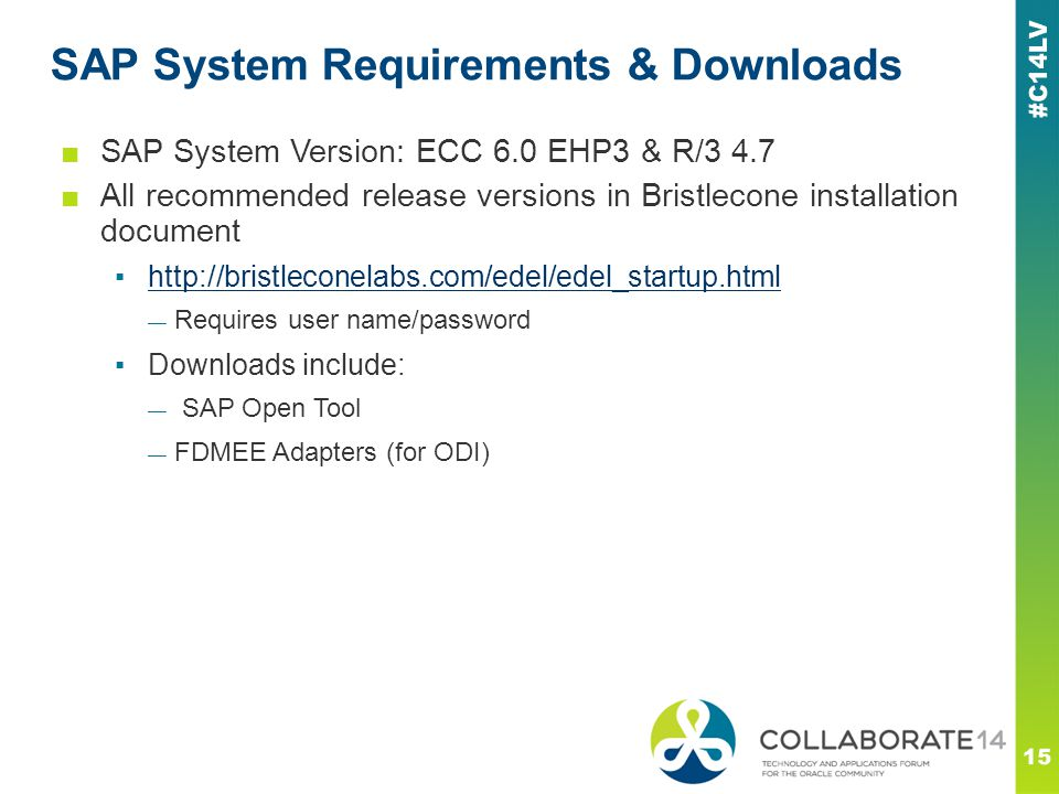 SAP System Requirements & Downloads