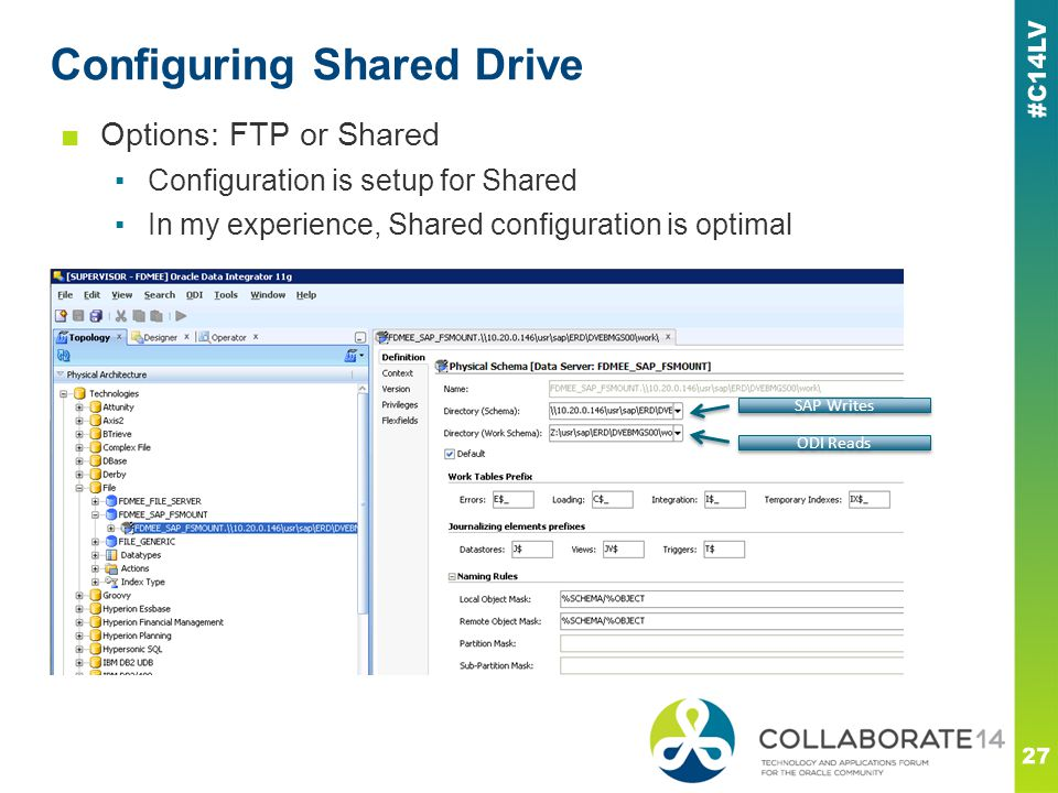 Configuring Shared Drive