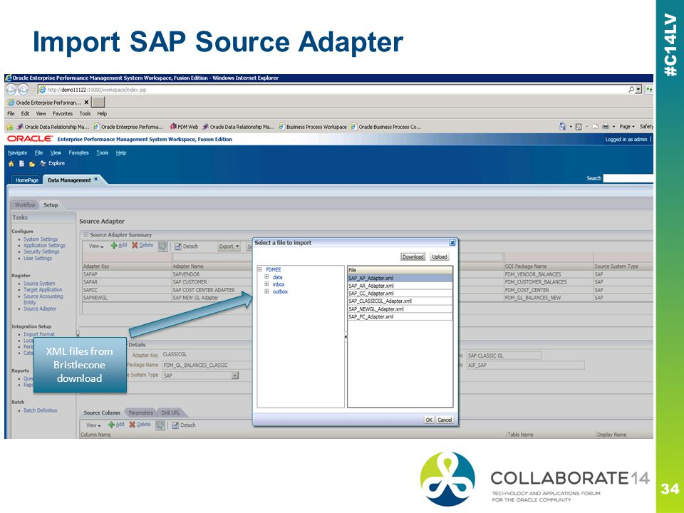 Import SAP Source Adapter