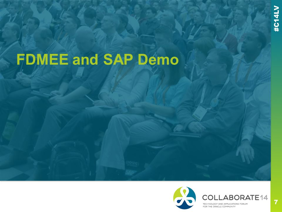 FDMEE and SAP Demo This is a subtitle or bulleted list