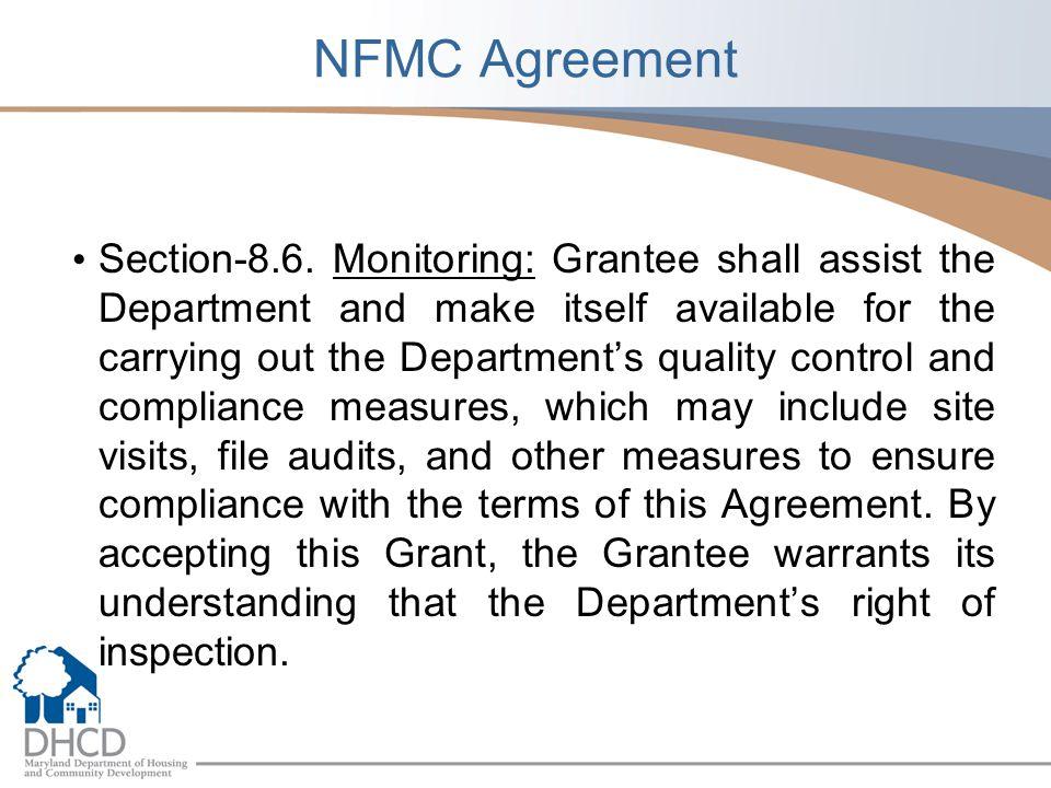 NFMC Agreement