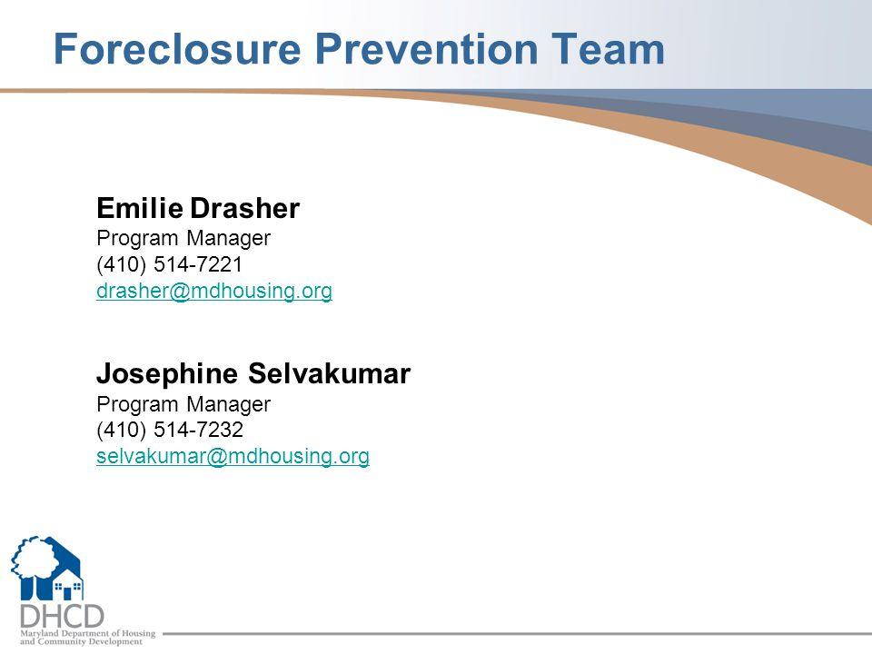 Foreclosure Prevention Team