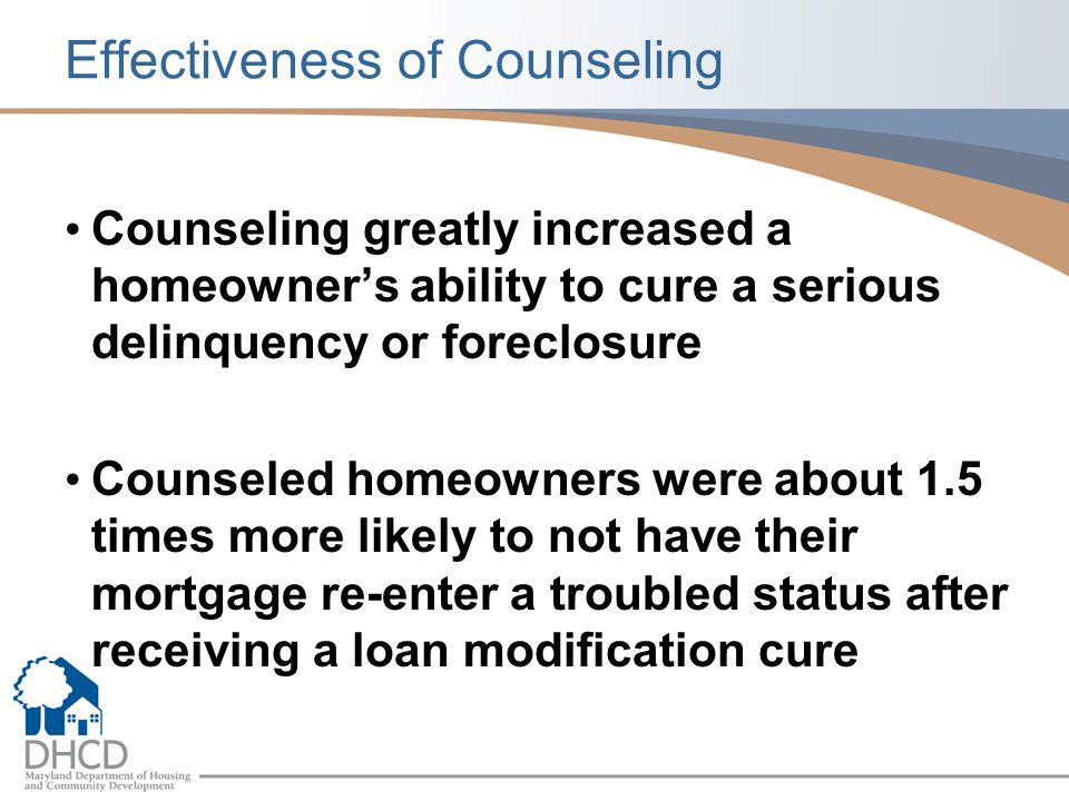 Effectiveness of Counseling