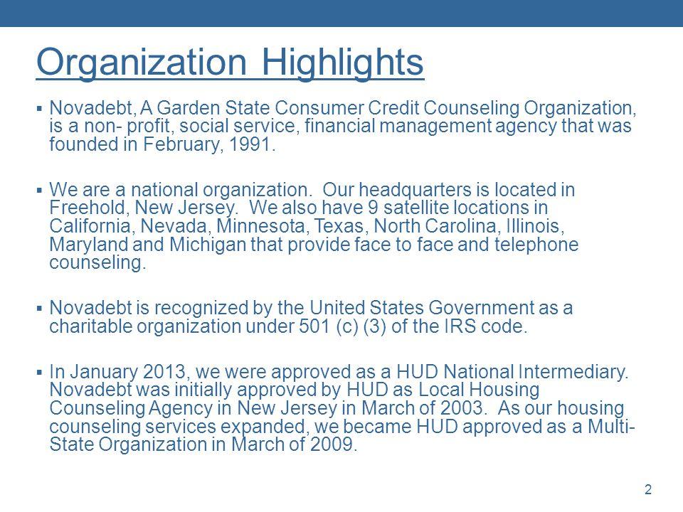 Organization Highlights