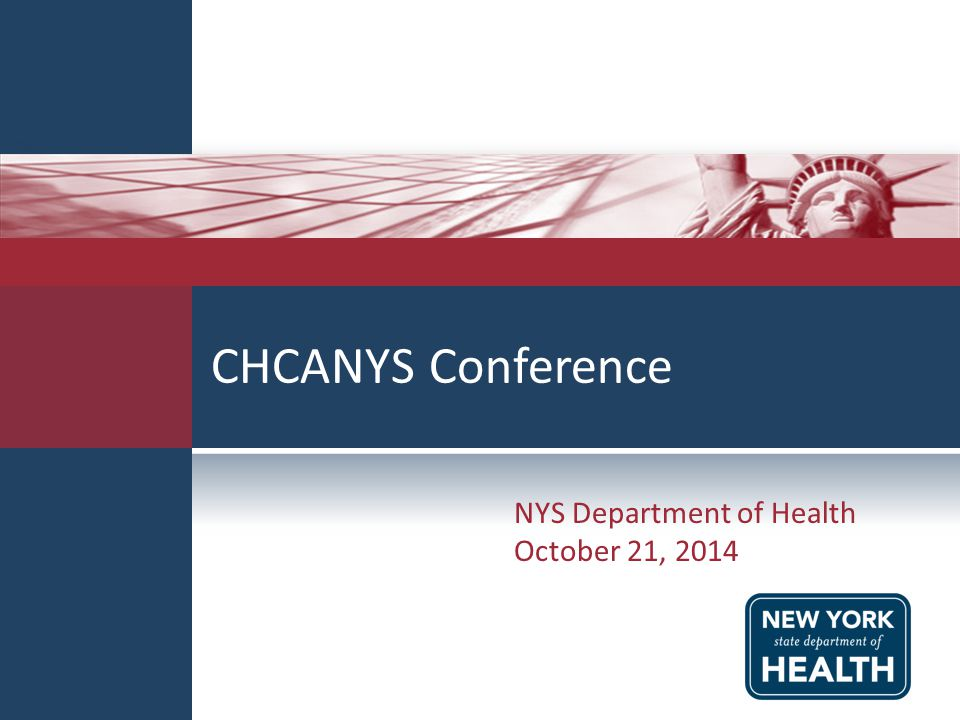 NYS Department of Health October 21, 2014