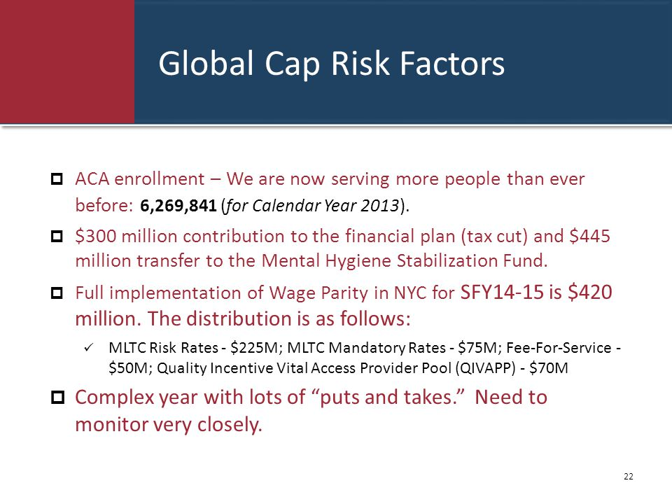 Global Cap Risk Factors