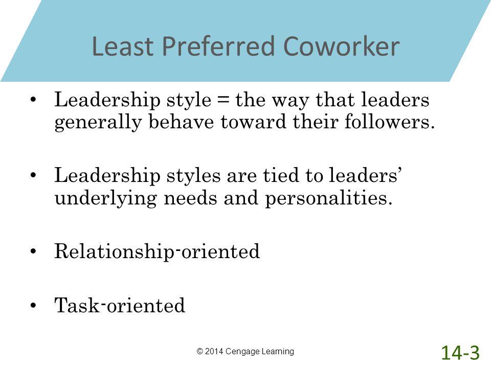 Least Preferred Coworker
