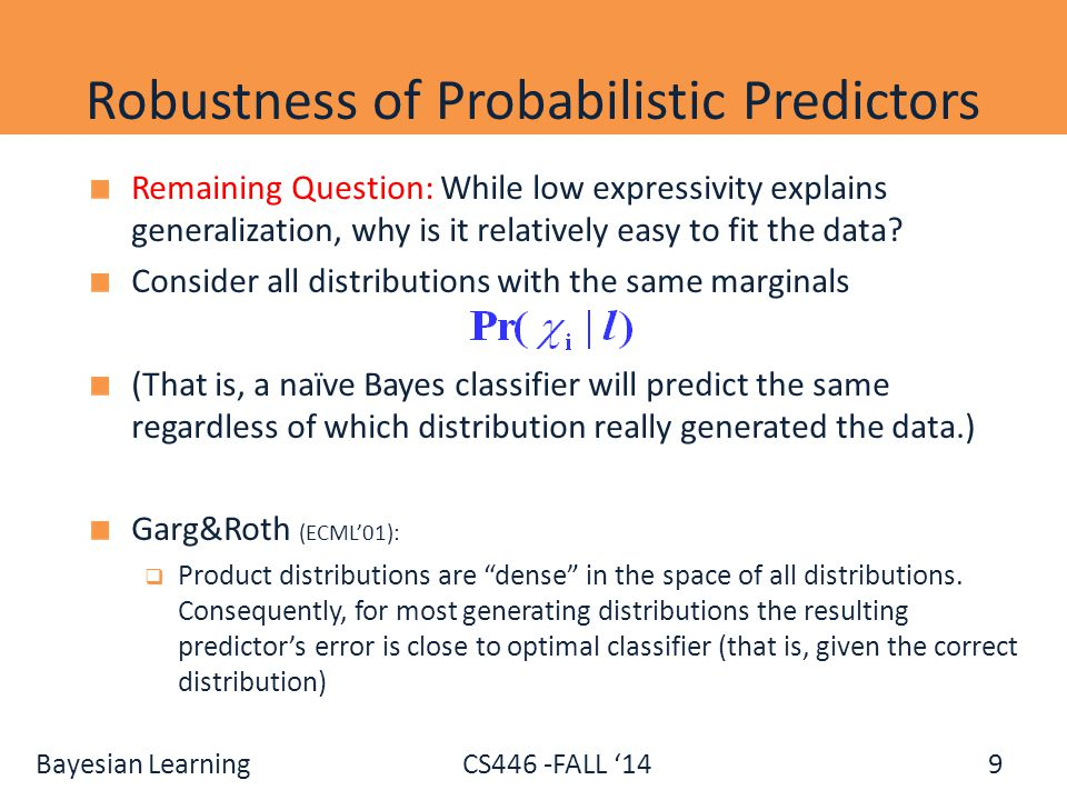 Robustness of Probabilistic Predictors