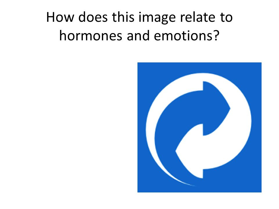 How does this image relate to hormones and emotions