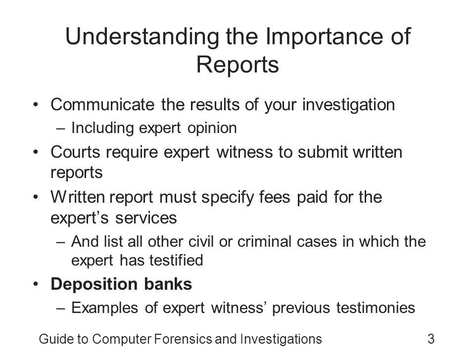 Understanding the Importance of Reports