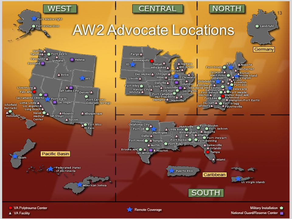 AW2 Advocate Locations