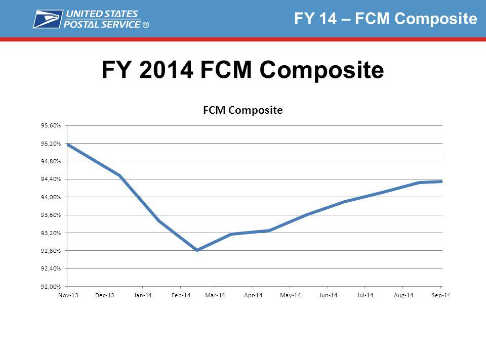 FY 14 – FCM Composite FY 2014 FCM Composite