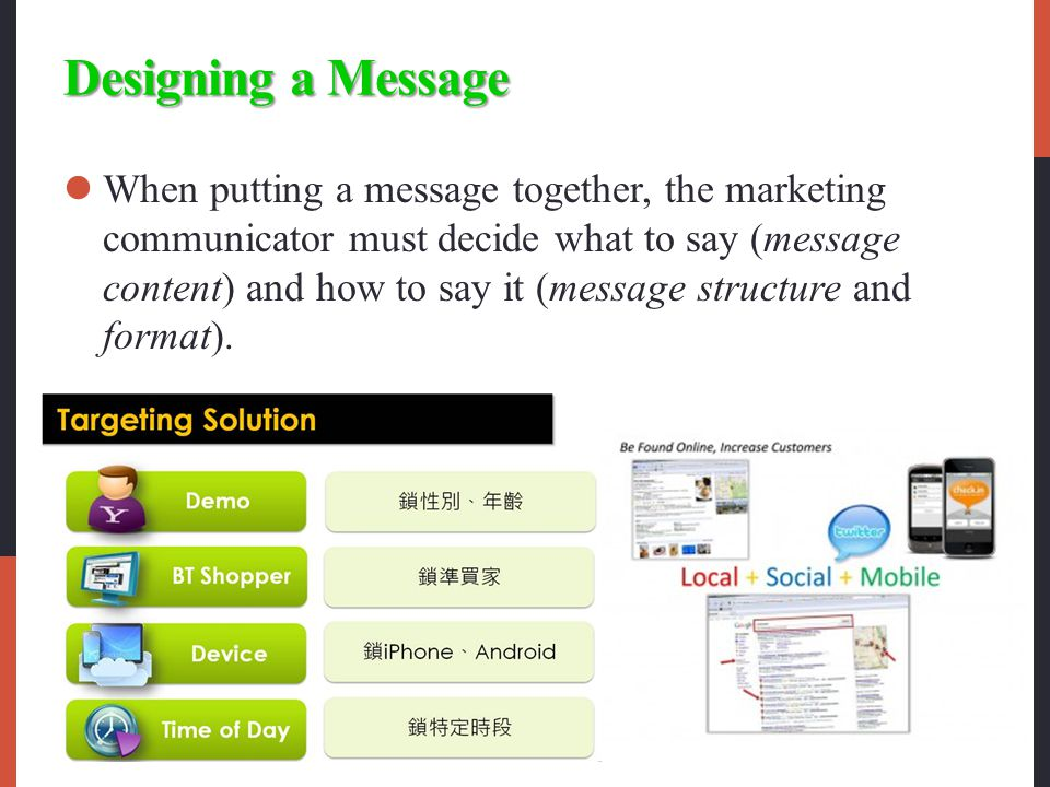 Designing a Message