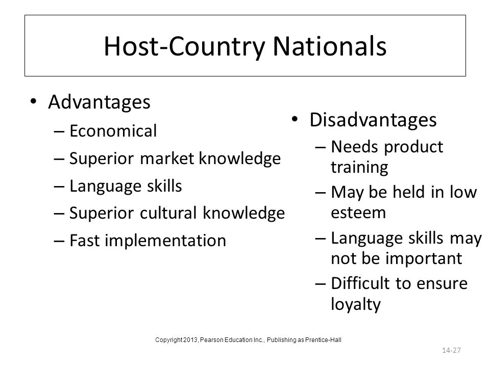 Host-Country Nationals