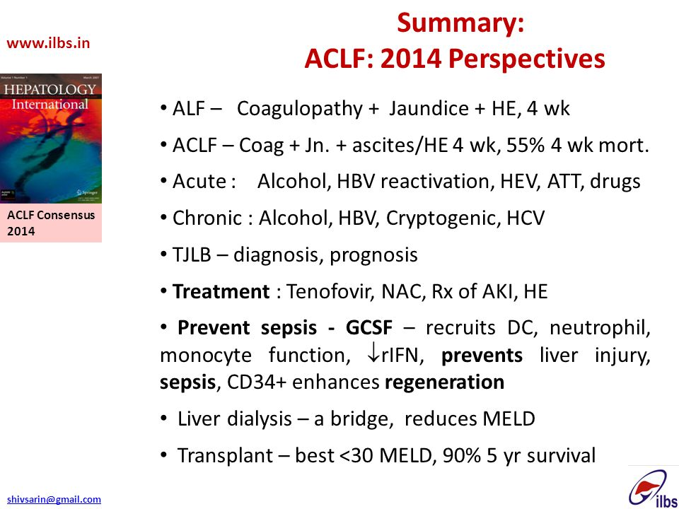 ACLF: 2014 Perspectives Summary: