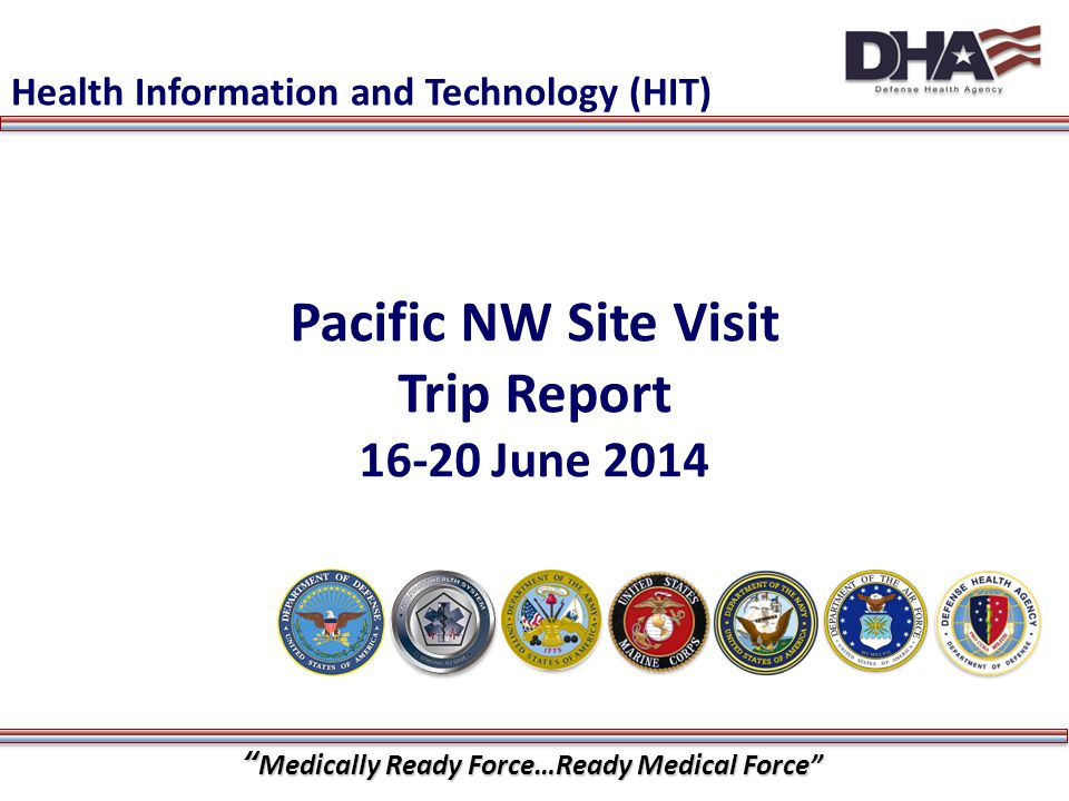 Pacific NW Site Visit Trip Report