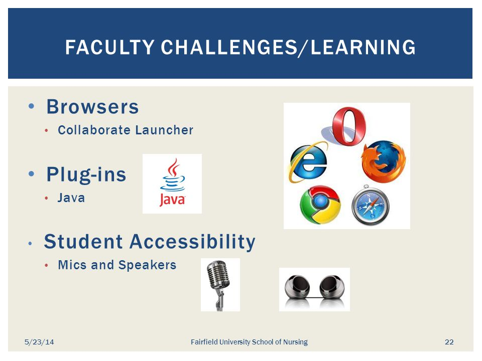Faculty Challenges/Learning