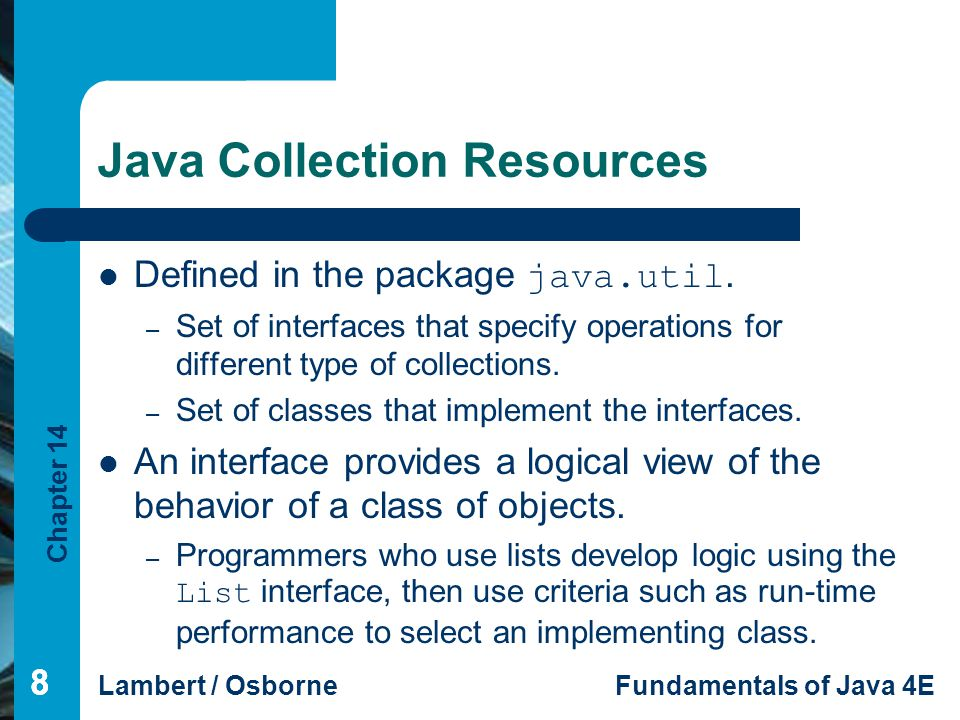 Java Collection Resources